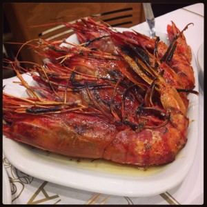 Scarlet Shrimp at Cervejaria Da Ramiro (Lisbon)